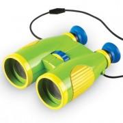 Binoclu pentru copii cu inel de focalizare mare Learning Resources marire 6 x Verde