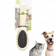 Peine Doble Cara Quita Pelo Para Cepillo Mascotas Perros