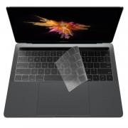 ZKY Keyboard Cover - силиконов протектор за клавиатурата на MacBook Pro (без touch Bar) (модел след 2016) (прозрачен-мат) (bulk)
