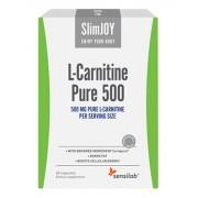 SlimJOY L-Carnitine Pure 500 - fettbrännande kapslar. Schweizisk kvalitet. 60 kapslar