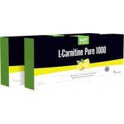 Sensilab SlimJOY L-Carnitine Pure 1000 1+1 GRATIS Reinstes flüssiges L-Carnitin für eine effektive Fettverbrennung 2x 10 Ampullen für 20 Tage Sensilab