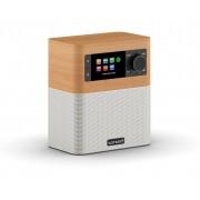 sonoro STREAM Audiosystem - Ahorn Dekor + weiß - 148 x 171 x 101 mm