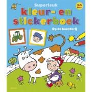 Deltas Superleuk Kleur- en Stickerboek (3-5 jaar)