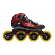 Tempish GT 500 100 Inline Speed Skates unisex zwart/rood maat 37