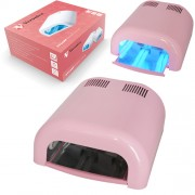 UV nagel lamp met timer, UVT-36, BARBIE ROZE