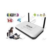 ROUTER WIRELESS 3G AZTECH CON PORTA USB PER METTERE IN RETE WIFI LA CONNESSIONE INTERNET DELLA CHIAVETTA HSDPA 3G TIM VODAFONE WIND TRE
