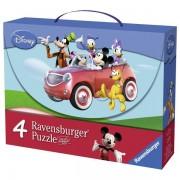 Ravensburger puzzle (slagalice) - Miki Maus kofercic RA07214