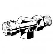 Honeywell Ultraline thermostatische radiatorafsluiter BB binnenwerk 1/2 haaks verkeerd V2000ABB15