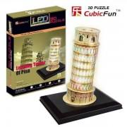 Puzzle 3D CubicFun CBF4 Turnul din Pisa