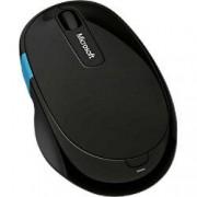 Microsoft Wireless Mouse Sculpt Comfort Blue Track Black