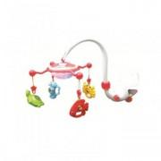 Carusel Muzical pentru bebelusi cu Proiectie Aqua Magic Red