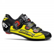 Sidi Genius 7 Road Shoes - Black/Yellow Fluo/Black - EU 44 - Black/Yellow Fluo/Black