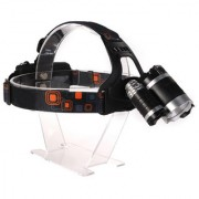 Rechargeable Zoomabl Led Headlight Head Lamp Light Torch Flashlight - 32