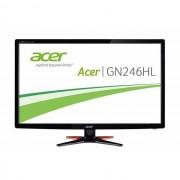 "Acer Gn246hlbbid Monitor Pc Gaming 24"" Full Hd 350 Cd/m² Colore Nero"