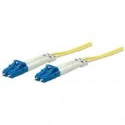 Patch Fibra Optica Intellinet duplex singlemode, 2m, conectori LC-LC