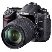 Refurbished-Very good-Reflex Nikon D7000 Black + Nikkor Lens f/3.5-5.6G DX