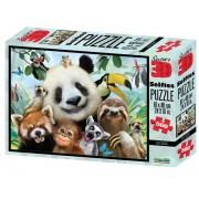 Puzzle 3D Zoo Selfie 500 piese