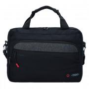 American Tourister City Aim Laptoptas 41 cm laptopvak Black