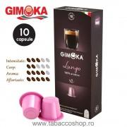 10 capsule cafea Gimoka Lungo 5.5g