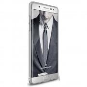 Husa Samsung Galaxy Note 7 Fan Edition Ringke Slim FROST GREY + Bonus folie Ringke Invisible Screen Defender