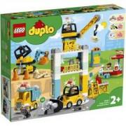 Конструктор Лего Дупло - Строителен кран, LEGO DUPLO Town, 10933