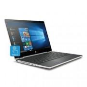 "Лаптоп HP Pavilion x360 15-cr0009nu (4FN92EA)(сребрист), четириядрен Kaby Lake R Intel Core i7-8550U 1.8/4.0 GHz, 14.0"" (35.56 cm) FHD IPS Glare Touchscreen Display & Radeon 530 4GB, (HDMI), 8GB DDR4, 256GB SSD, 1x USB 3.1 Type-C, Windows 10, 1.63"
