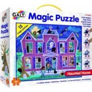 Magic Puzzle Galt Casa bantuita 50 piese Multicolor