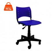 Cadeira de Escritório Secretária Evidence I Ajustável Azul