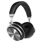 BLUEDIO T4S Over-ear Wireless Bluetooth 4.2 HiFi Stereo Headphone Headset with Mic - Black