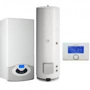 Pachet Centrala termica in condensare Ariston Genus Premium System Evo 35 cu boiler BC1S 300 L