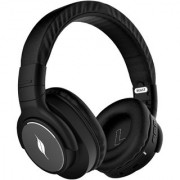 Leaf Beast Wireless Bluetooth Headphones with Handsfree Mic Deep Bass and 30 Hour Battery Life (Carbon Black)