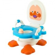 ABASR PANDA CREATION DUCKY POTTY TRAINER SEAT (BLUE WHITE)