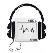 Väggdekor Music Is My Life