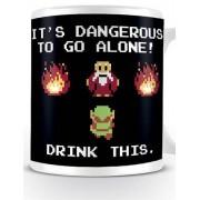 Pyramid Legend of Zelda - Drink This Mug