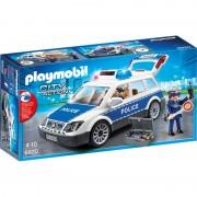 Masina de Politie cu Lumina si Sunete Playmobil