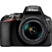 Digitalni SLR fotoaparat Nikon D3500 Kit Uklj. AF-P 18-55 mm VR 24.2 MPix Crna Bluetooth, Full HD video zapis