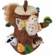 Jucarie educativa The Puppet Company Finger Puppets - Tree House