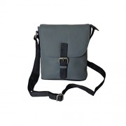 Style98 Grey Leather Women's Sling Bag