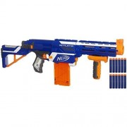 Nerf N Strike Elite Retaliator (Colors May Vary) 4 Blasters In 1 3 Interchangeable Parts Fires Up To 90 Feet Trademarks Hasbro Played By Young & Old Improves Family Bonding For Your Child