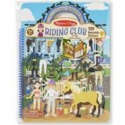 Детска книжка със стикери - Клуб за езда, 19410 Melissa and Doug, 000772194105