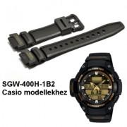 SGW-400H-1B2 Casio fekete műanyag szíj