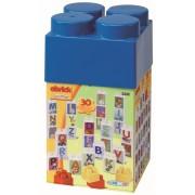 ECOIFFIER 3232 Cub Abrick cu 30 de cuburi 11,7*11,7*22,5 cm