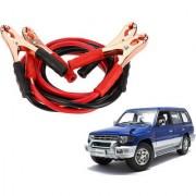 Auto Addict Premium Quality Car 500 Amp Heavy Duty Copper Core Tangle Battery Booster Cable 7.5 Ft For Mitsubishi Pajero