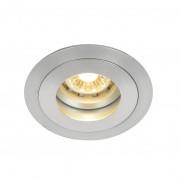 Crius LED Inbouwspot Zilver Rond - Crius