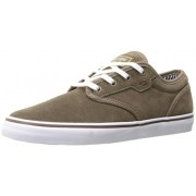 Globe Men s Motley Skate Shoe Walnut/White 6 D(M) US