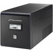 UPS PowerWalker 1000VA/60W,Line interactive RJ11/RJ45 IN/OUT,USB,LCD(VI 1000 LCD
