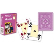 Modiano 4 sarok 100% műanyag kártyák - Lila