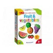 Set Creativ Copii Fructe Si Legume