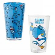 Funko Aladdin Pint Glass 2-Pack Service