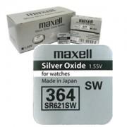 Maxell SR621SW (364) - комплект 100 батерии